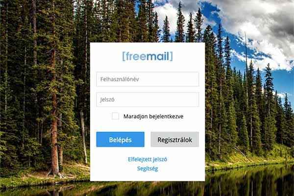 Freemail bejelenkezés